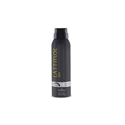 DESODORANTE AEROSOL CITY LATTITUDE 150ml