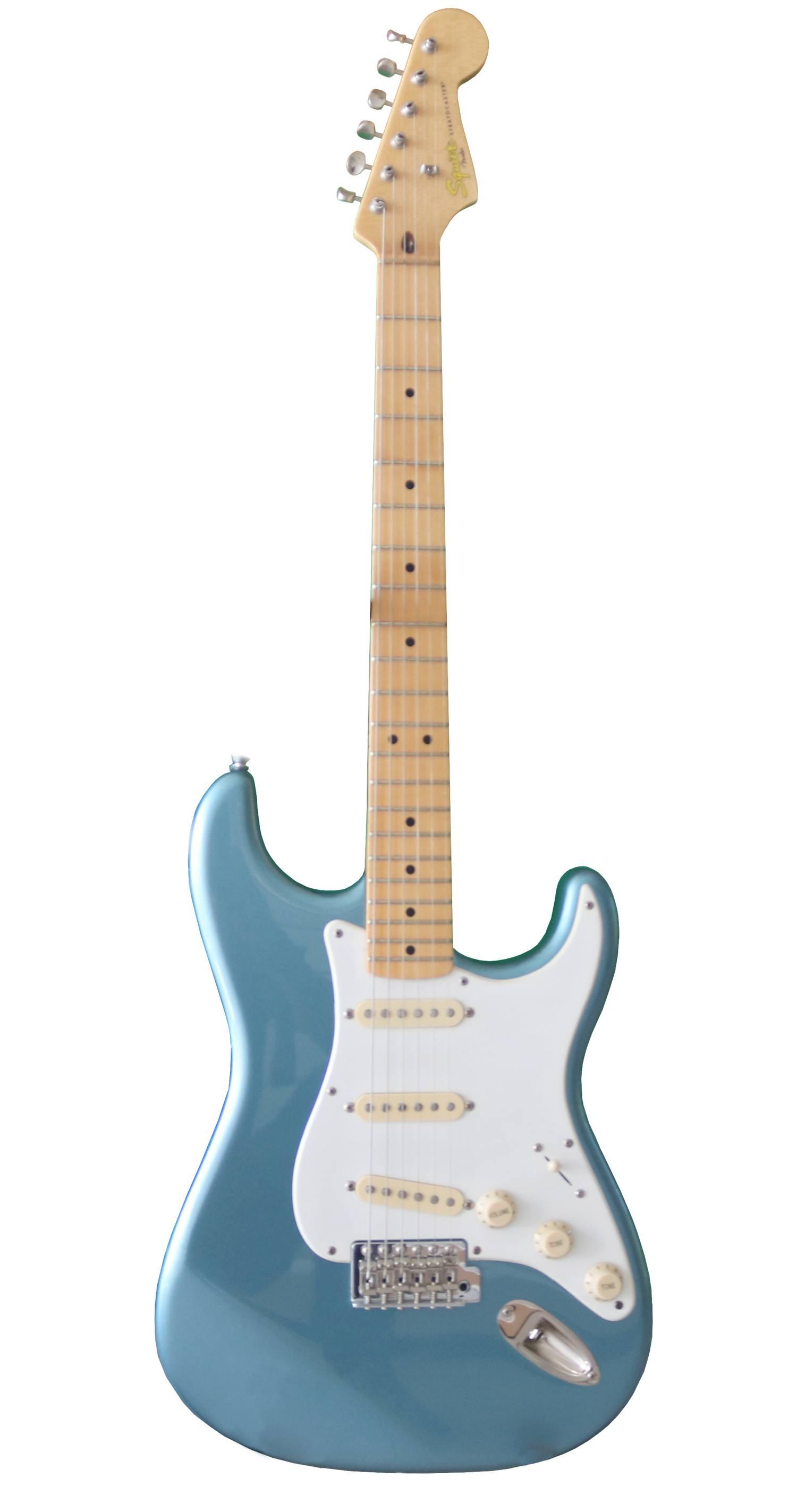 guitarra fender squier classic viber 50s LPB