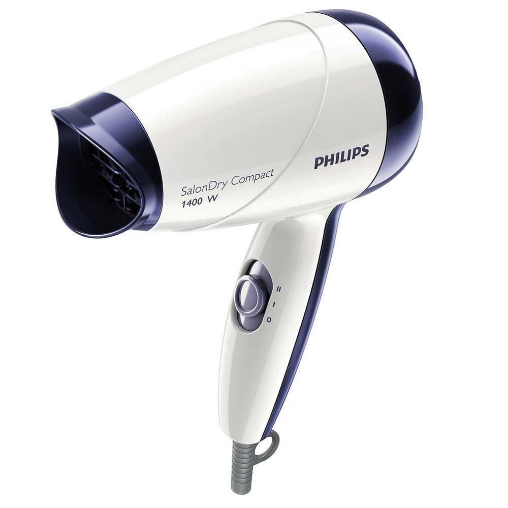 Secador de Cabelos Philips SalonDry HP8103 Bivolt 1400W – Branco/Roxo