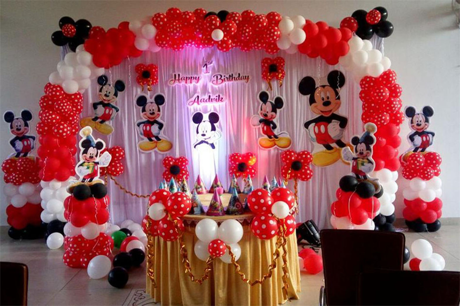 Get the Best Birthday Themed Decoration, Caterers and Photography in Bangalore