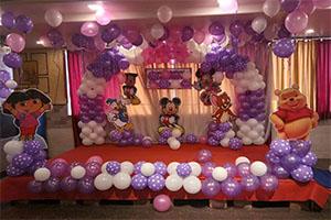 Random Naming Ceremony Theme Decoration -