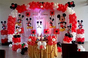 Mickey Birthday Theme Decoration -
