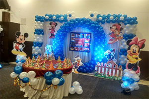 Mickey Circle Theme Decoration -
