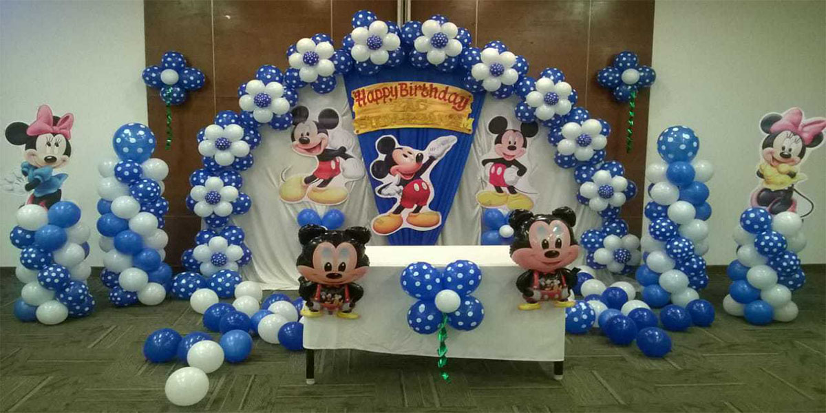 Mickey Flower Arch Theme Decoration -