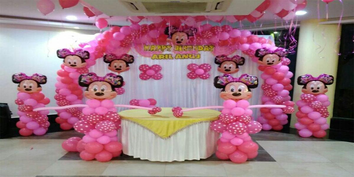 Minnie Mouse Theme Decoration -