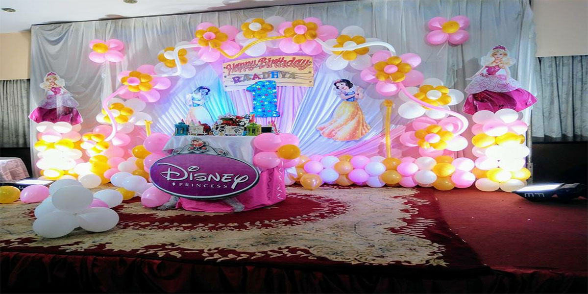 Princess Birthday Theme Decoration -