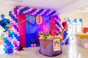 Shine and Shimmer Theme Decoration -