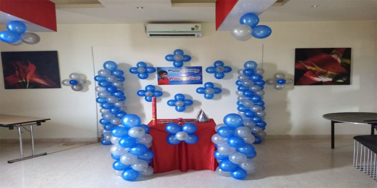 Blue Boy Theme Decoration -