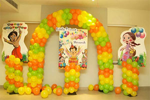 Chota Bheem Theme Decoration -