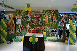 2D Jungle Theme Decoration -