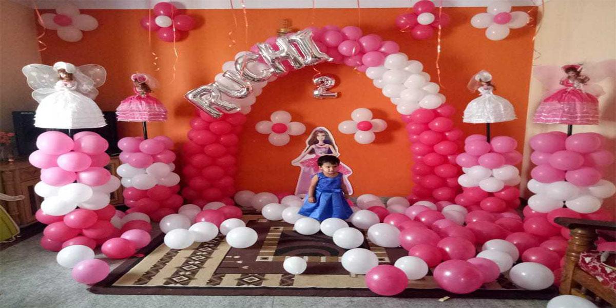 Unique Barbie Doll Theme Decoration -
