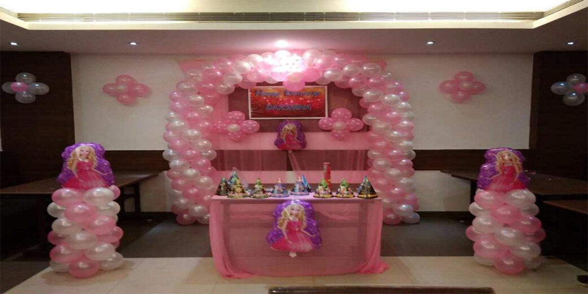 Barbie Foil Theme Decoration -
