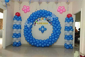 Home Circle Theme Decoration -