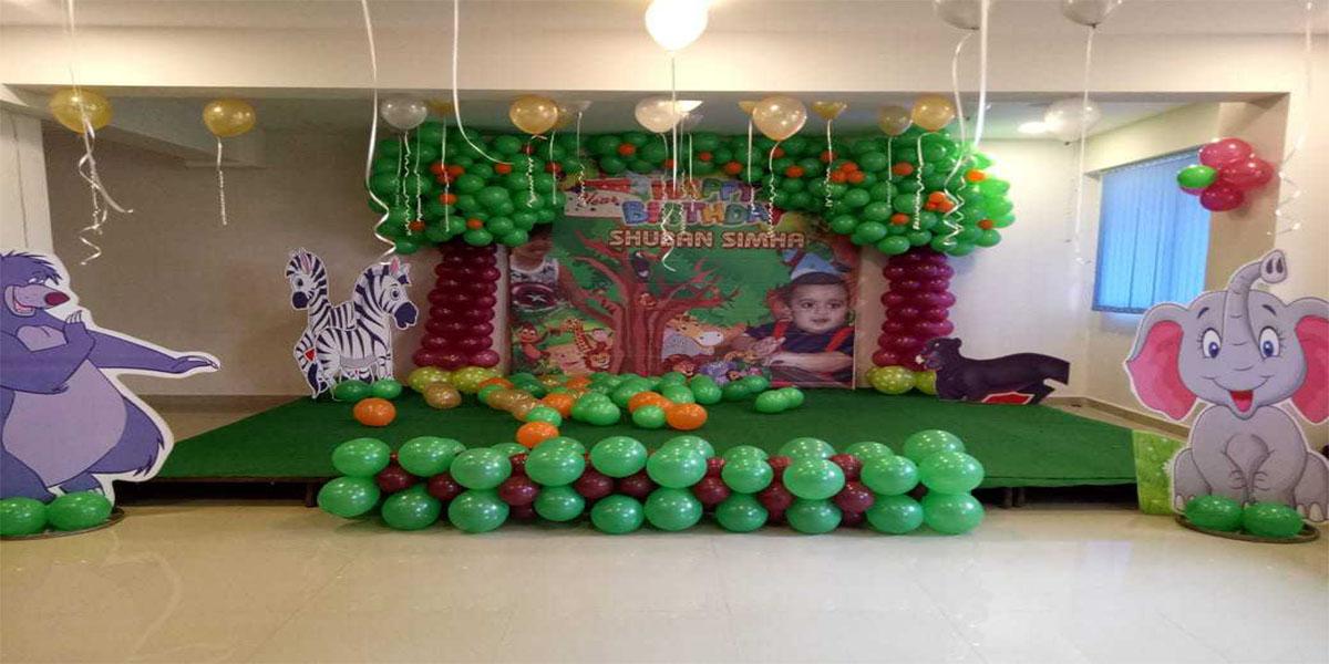 Designer Jungle Theme Decoration -
