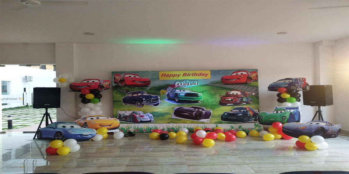 McQueen Theme Decoration -