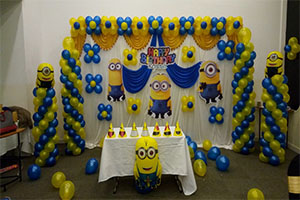 Simple Minion Theme Decoration -