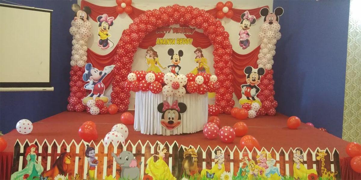 Polka Mickey Theme Decoration -