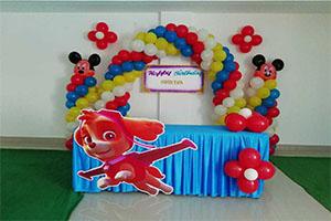 Simple Foil and Cutout Theme Decoration -