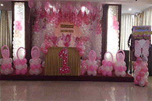Baby Angel Theme Decoration -