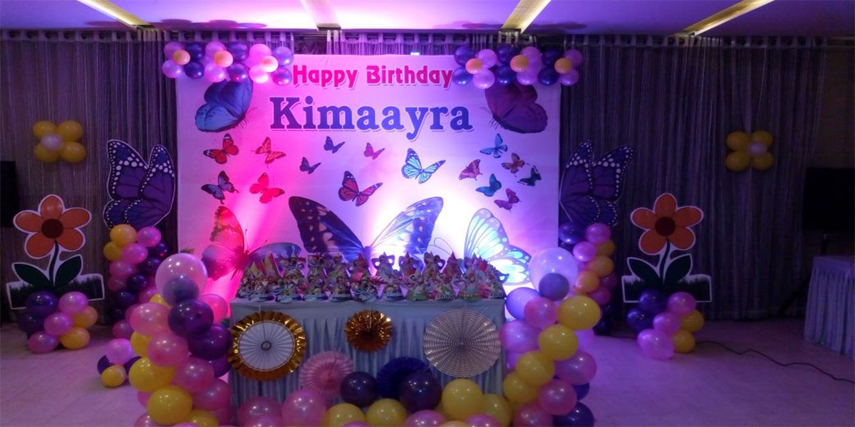 Butterflies Theme Decoration -