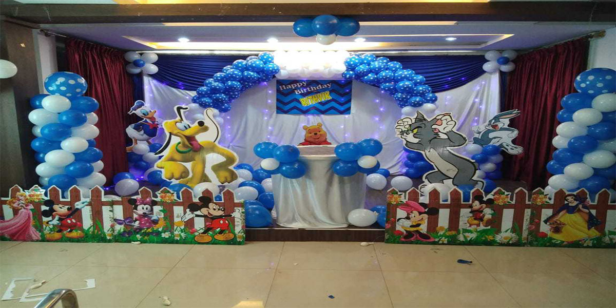 Disney Fun Theme Decoration -