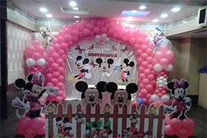Stage Gate Mickey Theme Decoration -
