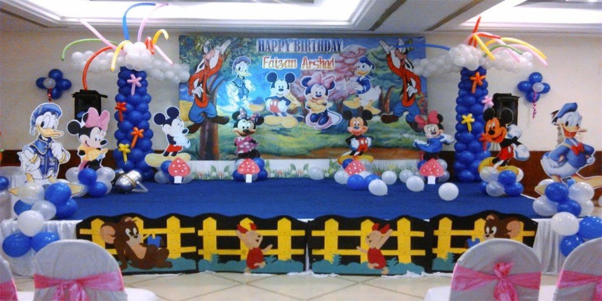 Disney Era Theme Decoration -