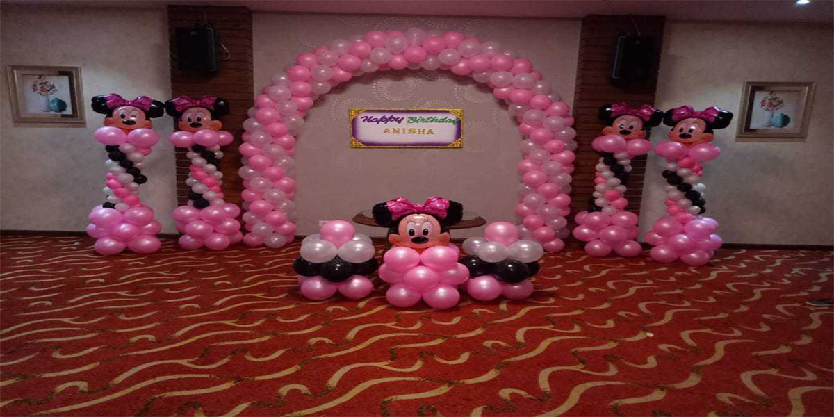 Basic Minnie Theme Decoration -