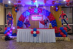 Super Hero Theme Decoration -