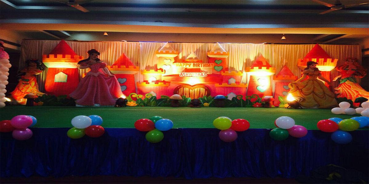 3D Princess Castle Theme Decoration -