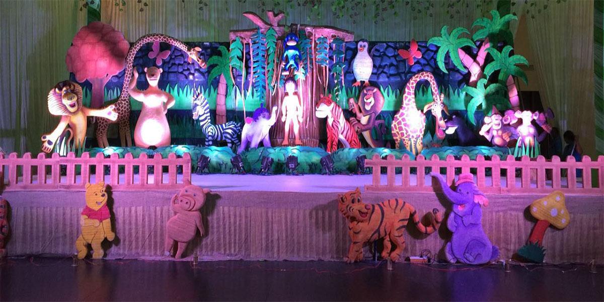 3D Disney Forest Theme Decoration -