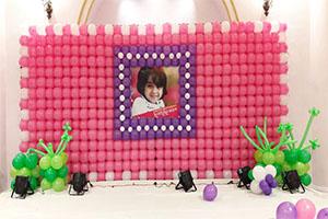 Balloon Wall Frame Theme Decoration -