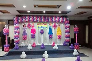 Disney Princess Basic Theme Decoration -