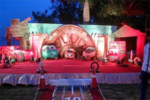 Mater Theme Decoration -