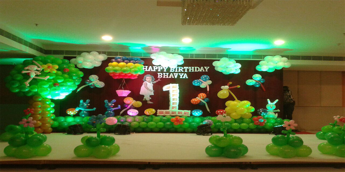Happy Forest Theme Decoration -