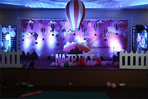 Parachute Theme Decoration -