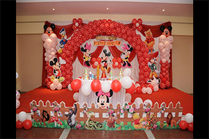 Polka Disney Theme Decoration -