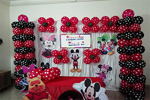 Polka Home Theme Decoration -