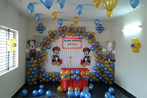 Prince Mickey Theme Decoration -