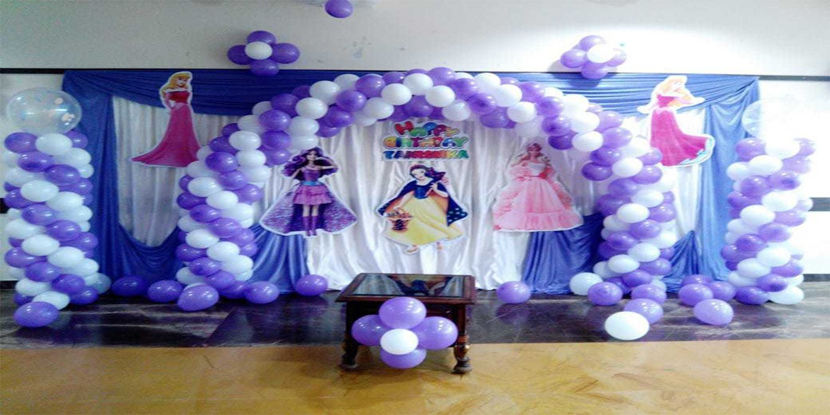 Princess Backdrop Theme Decoration -