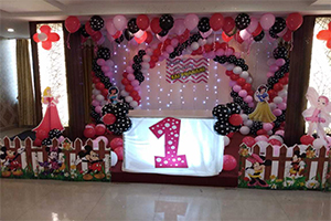 Unique Disney Princess Polka Theme Decoration -