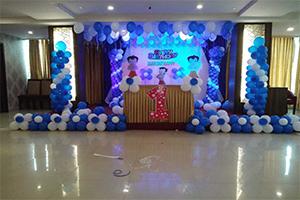 Chotta Bheem Fancy Pillars Theme Decoration -