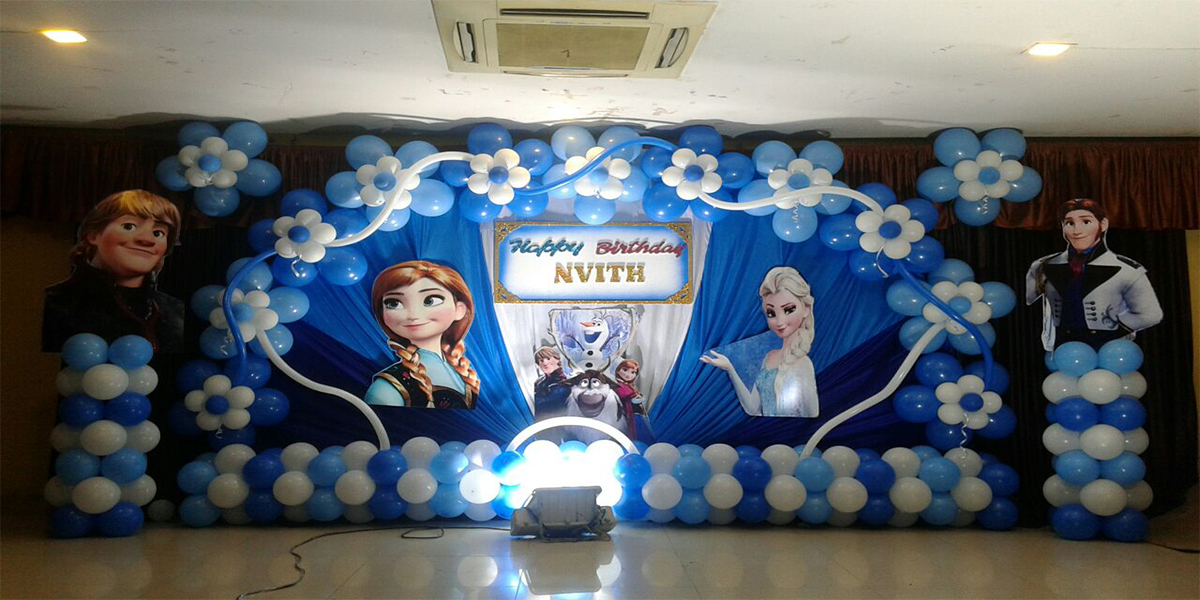Designer Frozen Theme Decoration -