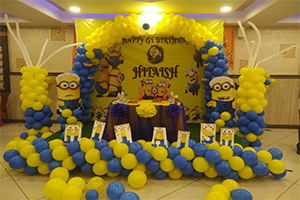 Designer Minion Theme Decoration -