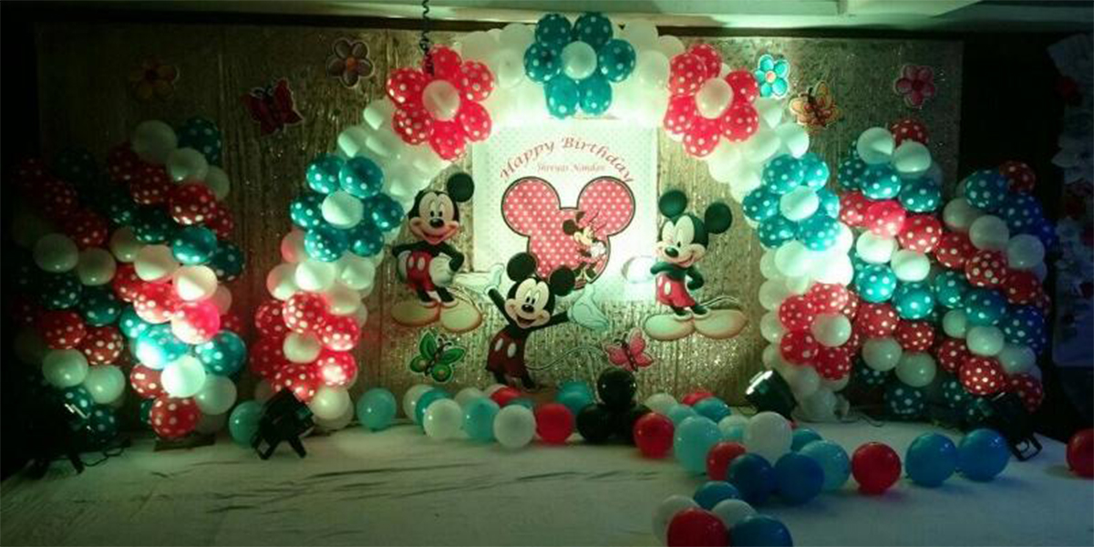 Different Mickey Theme Decoration -
