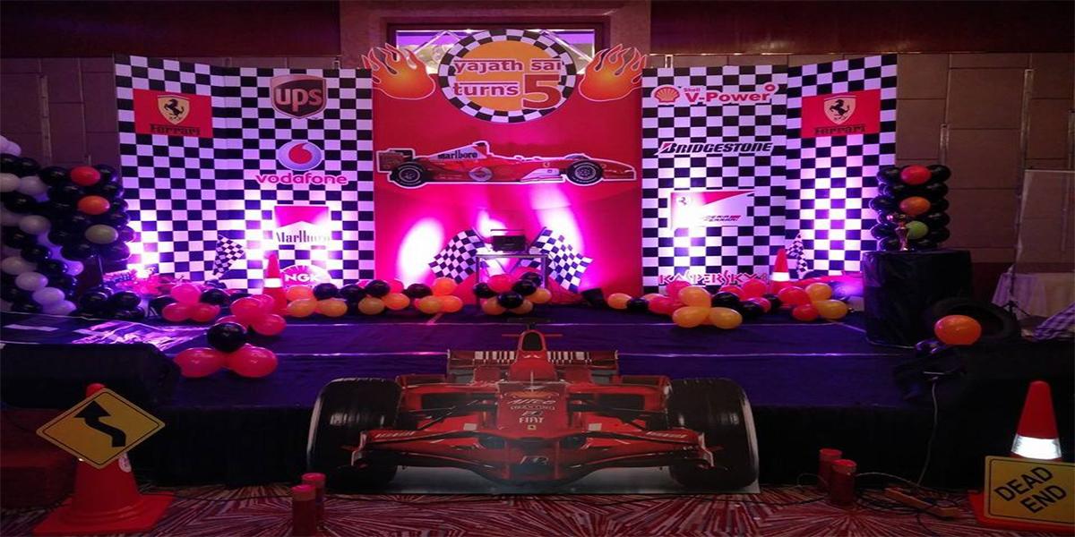 Formula1 Theme Decoration -