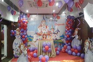 Little Princess Printed Castle Theme Decoration -