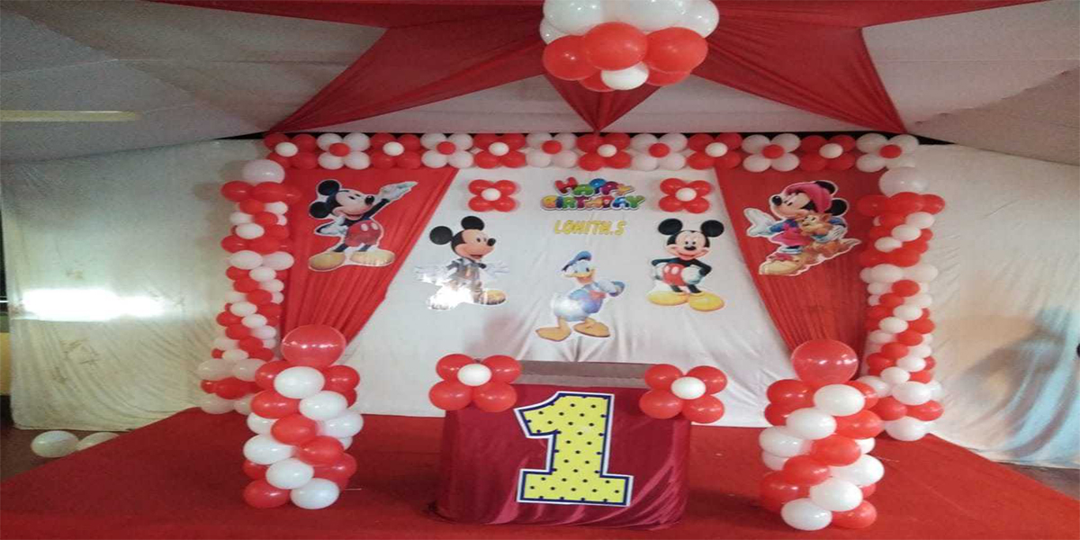 Mickey Drape Theme Decoration -