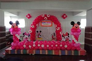 Unique Mickey Minnie Theme Decoration -