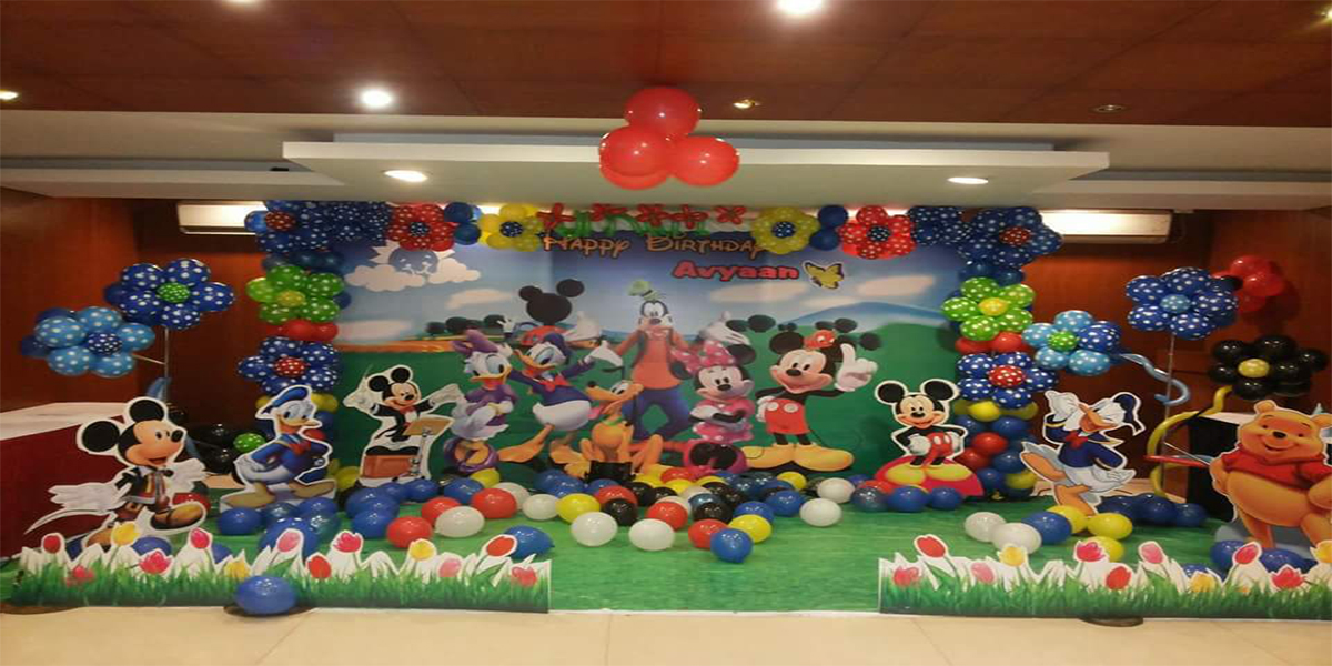 2D Disney Theme Decoration -